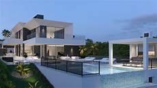 futuristic villa in ultra modern villa near marbella modern villas