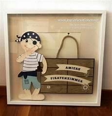 Kleiner Pirat Als Deko F 252 Rs Kinderzimmer Gefertigt Mit