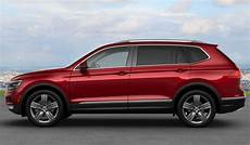 2018 Volkswagen Tiguan Exterior Color Options