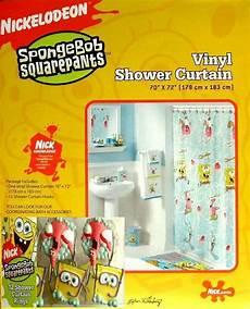Spongebob Shower Curtain