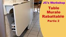Comment Faire Une Table De Cuisine Murale Rabattable 2 2