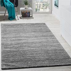 teppich modern wohnzimmer kurzflor grau teppichcenter24