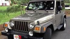 download car manuals 2005 jeep wrangler user handbook 2005 jeep wrangler manual review walk around start up rev test drive youtube