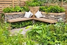 Garten Sitzecke Gestalten Ideen F 252 R Kleine Und Gro 223 E