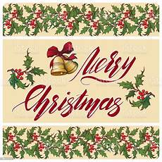 handwritten merry christmas sign accurate brightly painted drawings and calligraphy stock