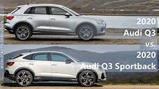 2020 Audi Q3 Vs 2020 Audi Q3 Sportback Technical