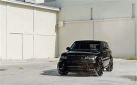 Download Wallpapers Land Rover Range Sport 2018