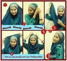 Cara Memakai Jilbab Pashmina Classic Style Tutorial
