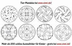 Ausmalbilder Viele Tiere Malvorlagen Zum Ausmalen Ausmalbilder Tiere Tier Mandalas