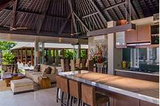 bali luxury villas lombok strait bali villa photography kitchen and living room areas
