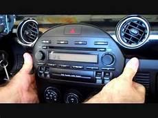 how to mazda miata mx5 bose car stereo removal 2006 2013