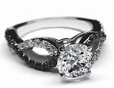 4 sposoby na czarny pierścionek zaręczynowy inspiracja pomysł koncepcja