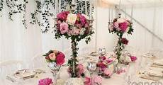decoration fleurs chandelier mariage recherche