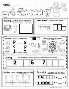 busy work worksheets for students free week of january seat work for kindergarten kindergarten kindergarten morning work