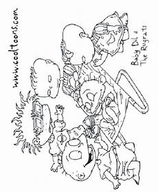 more super duper awesome rugrats coloring pages everything rugrats and all grown up