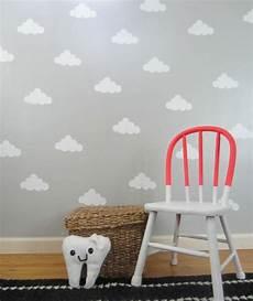 Kinderzimmer Deko Selber Machen Gestalten Grau Wolken