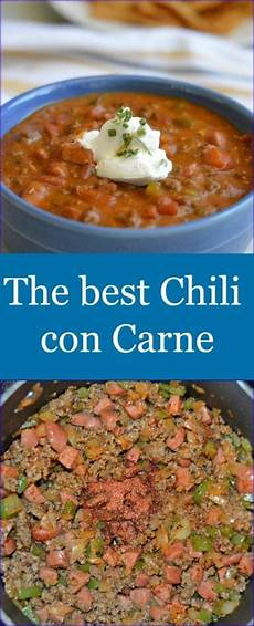 The Best Chili Con Carne My Table