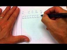 scrivere lettere d lettere c o a g q come scrivere in corsivo maiuscolo