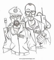ghostbusters 16 gratis malvorlage in comic