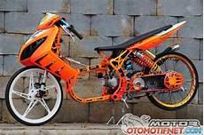 Modifikasi Motor Nouvo by Foto Modifikasi Yamaha Nouvo Racing Look Rangka Custom