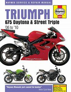 triumph daytona 675 haynes manual