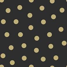 kindertapete vlies kindertapete vlies 347676 punkte schwarz gold glanz