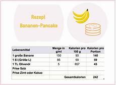 Wie Viele Kalorien Hat Eine Banane - wie viele kalorien hat eine banane mit
