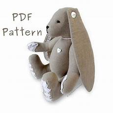 Lacy Bunny 11 Quot Floppy Eared Rabbit Pdf Sewing Pattern My