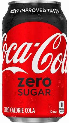 coca cola zero sugar 12 oz coca cola product facts
