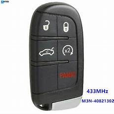 for fiat 500 500l 500x replacement 433mhz remote car key