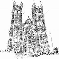 Paling Keren Sketsa Gambar Gereja Tea And Lead