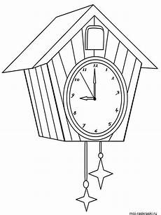 Malvorlagen Uhren Kostenlos And Clock Coloring Pages And Print