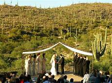 Outdoor Wedding Ceremony Tucson