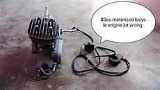 80cc motorized bicycle engine kit wiring installation youtube