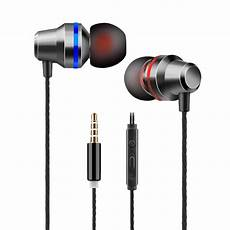 Hybrid Earphone Heavy Bass Headphone With by New Universal Wired In Ear Earphones Heavy Bass Stereo