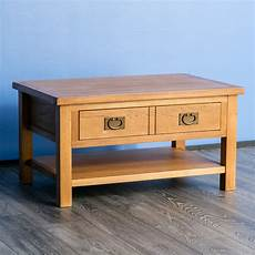 surrey oak coffee table solid wood lounge table coffee table drawer new ebay