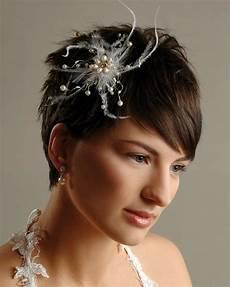 Brautfrisuren F 252 R Kurze Haare Haarschnitt Ideen Und