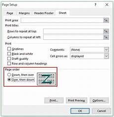 how to insert page numbers in excel worksheets