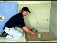 Flache Duschtasse Einbauen Anleitung Montage Duschelement F 252 R Begehbare Dusche