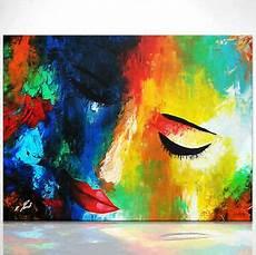 Was Ist Acryl - frauen kopf bild leinwand abstrakt kunst bilder wandbild
