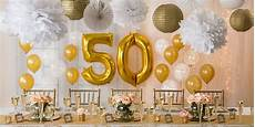 golden 50th wedding anniversary party supplies 50th