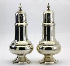 salt and silver frank m whiting sterling silver salt and pepper set 811 ebay