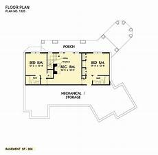 house plans walkout basement hillside house plan the butler ridge by donald a gardner