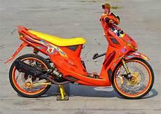Variasi Motor Mio Sporty by Variasi Mio Cw Cat Brush Mortech Panduan Modifikasi