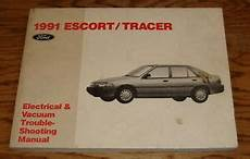 91 ford festiva wiring harness 1991 ford mercury tracer wiring diagrams electrical vacuum manual 91 ebay