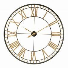 horloge en m 233 tal d 120 cm la valli 200 re maisons du monde