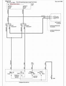 suzuki sidekick repair creating a new headlight circuit