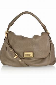 marc by marc ukita textured leather shoulder bag in