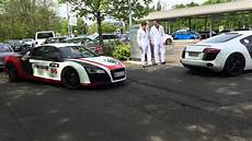 Audi R8 S 252 Dtrupp R8 Meeting Bad Nauheim The Cars Arrive