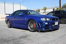 image r34 nissan skyline gt r replica used in fast and